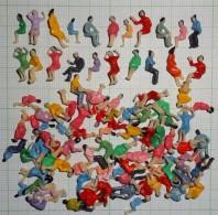 .90 Personaggi Per Plastico Scala N - Decorazione