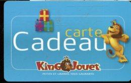 CD8924   CARTE CADEAU A VOIR  FRANCE - Cartes Cadeaux