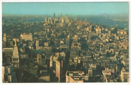 Panoramic View From The Observation Tower Atop The Empire State Building - Multi-vues, Vues Panoramiques