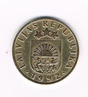 °°°  LETLAND  10 SANTIMI  1992 - Lettonie