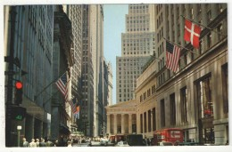 Financial District, New York City - Wall Street