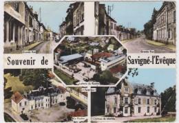 Savigné-l'Evêque. Multivues. - France