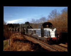 19 - CHALONS-D´AIX - Train - Locomotive - Train Militaire Belge - France