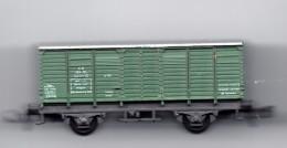 2 Carri Merci 1 Bagagliaio Scala N - Goods Waggons (wagons)