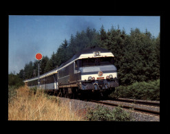 19 - EYGURANDE-MERLINES - Train - Locomotive - Eygurande