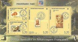 MAF-BK1-049 MVS MINT ¤ FRANCE ANTARCTIC TERR. 1999  BLOCK  ¤ STAMP ON STAMP - FILEX FRANCE - Stamps