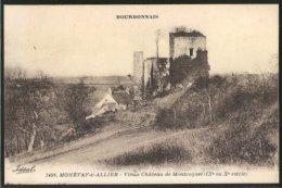 CPA Monétay-sur-Allier, Vieux Château De Montcoquet - Non Classés