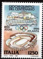 ITALIE    N°  2181  * * Jo 1996  Football Soccer Fussball Stade - Football