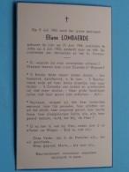 DP Eliane LOMBAERDE () Lier 19 Juni 1944 - Jette 6 Juli 1953 ( Zie Foto's ) ! - Avvisi Di Necrologio