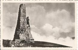 GRAND BALLON. Monument Aux Diables Bleus...  (scan Verso) - France