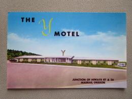 The Y Motel. Junction Of Hiways 97 & 26. Madras, Oregon - Etats-Unis