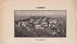1929 - Iconographie Documentaire - Cabris (Alpes-Maritimes) - Vue Générale - FRANCO DE PORT - Vieux Papiers