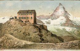 Hotel Belvedere Gornergrat Et Le Cervin 1907 - Lot. A57 - ZH Zurich