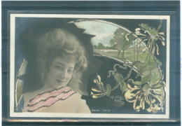 Reutlinger - TBE - ANNA HELD - Art Nouveau - DORURES - Spectacle