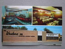 The Western Inn Restaurant & Lounge On U.S. 16, S.D. 47 And Interstate 90. Chamberlain, SD 57325 - Etats-Unis