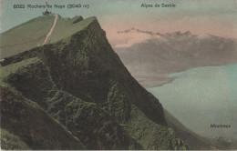 Rochers De Naye (2045 M) - Alpes De Savoie - Montreux - Louis Burgy No. 6022 - VD Vaud