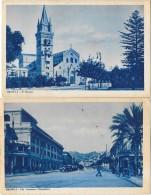 MESSINA (Italie) Ensemble De 2 Cartes église Avenue - Messina