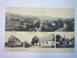 GRUSS Aus  TREVESEN  :  Carte Multivue  Vers 1914   - Ohne Zuordnung