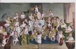 """FANTAISIE BEBES   """" Groupe De Bébés Musiciens """" Précurseur Série 319 - Bébés"""