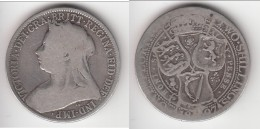 *** GRANDE-BRETAGNE - GREAT-BRITAIN - 1 FLORIN 1897 - 2 SHILLINGS 1897 VICTORIA - ARGENT - SILVER *** EN ACHAT IMMEDIAT - 1816-1901 : Frappes XIX° S.