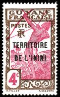 ININI  - YT  3  - Tir à L'arc -4c - NEUF* - Inini (1932-1947)