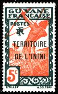 ININI  - YT  4  - Tir à L´arc - 5c - NEUF* - Inini (1932-1947)