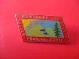 Broche  Cyclisme Randonnée Alsace / Vosges / Franche Comte - Wielrennen