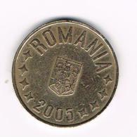 °°°  ROEMENIE  50  BANI  2005 - Roumanie