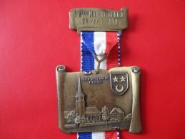 Medaille 2eme Marche Du Ried 1979 S S C Ohnenheim L'eglise - Sports