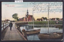 HELA - HEL Gdansk - Hafen Mit Molen Ca 1924  (13´936) - Pologne