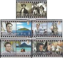 Pitcairn 916-920 (kompl.Ausg.) Postfrisch 2014 Schiffe - Pitcairninsel