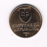 °°° SLOWAKIJE  1  KORUNA  2006 - Slovaquie