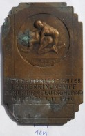 MEDAL WRESTLING DEM SIEGER, DANEMARK - DEUTSCHLAND, MUNCHEN 1.11.1940    PLIM - Lutte (Wrestling)