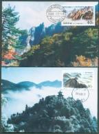 2 Maximum Card From PYONGYANG 99-10-05. - 11397 - Corée Du Nord