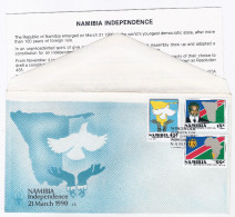 1990 - FDC -Namibia Independence- - Namibia (1990- ...)
