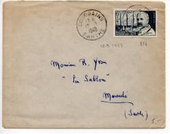 Calmettes (n° 814) Seul Sur Lettre Du 12.9.1948 - 1921-1960: Modern Period