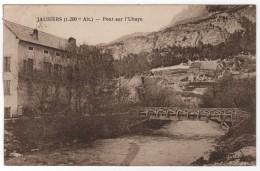 CPA 04 : JAUSIERS - Pont Sur L´Ubaye - Ed. Bourgeois à Chalon - 1931 - Autres Communes
