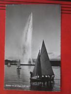 Geneve / Genf (GE) - Le Jet D´eau - GE Ginevra