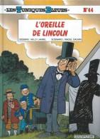 """LES TUNIQUES BLEUES  """" L'OREILLE DE LINCOLN """"   -  LAMBIL / CAUVIN   - E.O.  AVRIL 2001  DUPUIS - Tuniques Bleues, Les"""