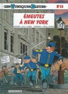 "LES TUNIQUES BLEUES  "" EMEUTES A NEW YORK ""   -  LAMBIL / CAUVIN   - E.O.  MAI 2002  DUPUIS - Tuniques Bleues, Les"
