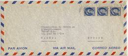 AIR MAIL Cover To Genève, Suisse,  Ref.04 - 1952-.... Elizabeth II