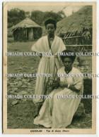 CARTOLINA TIPI DI DONNE AMARA GONDAR COSTUMI TIPICI ETIOPIA - Costumi