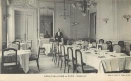 75 PARIS - CERCLE MILITAIRE DE PARIS - RESTAURANT - Arrondissement: 02