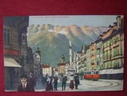 AUSTRIA / INNSBRUCK / +TRAM / 1917 - Innsbruck