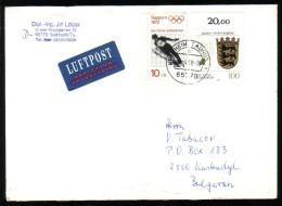 GERMANIE - 1972 - Sky - Jumping - P.covert Voyage