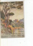 PRINCIPAUTE MONACO A EXPOSITION ARTS DECORAIFS PARIS 1925  DESSIB COULEURS Petit Pli Centre   MATTHIS - Monaco