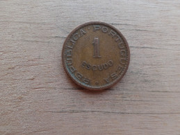 Mozambique  1 Escudos  1962  Km 82 - Mozambique