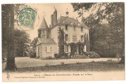 45. LOURY Loiret Le Château Des SAINTS ST-GERMAINS Façade Sur Le Parc - Autres Communes