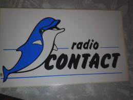 Radio Contact - Autocollants