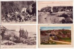 Guerre 14/18 Réunion De 4 Cartes En Relation Avec La Grande Guerre - Guerre 1914-18